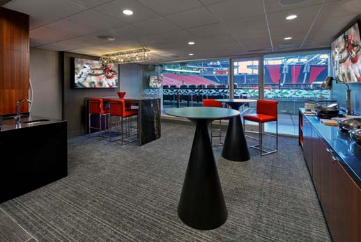 Book Atlanta Falcons Suites