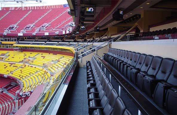 FedEx Field Suites